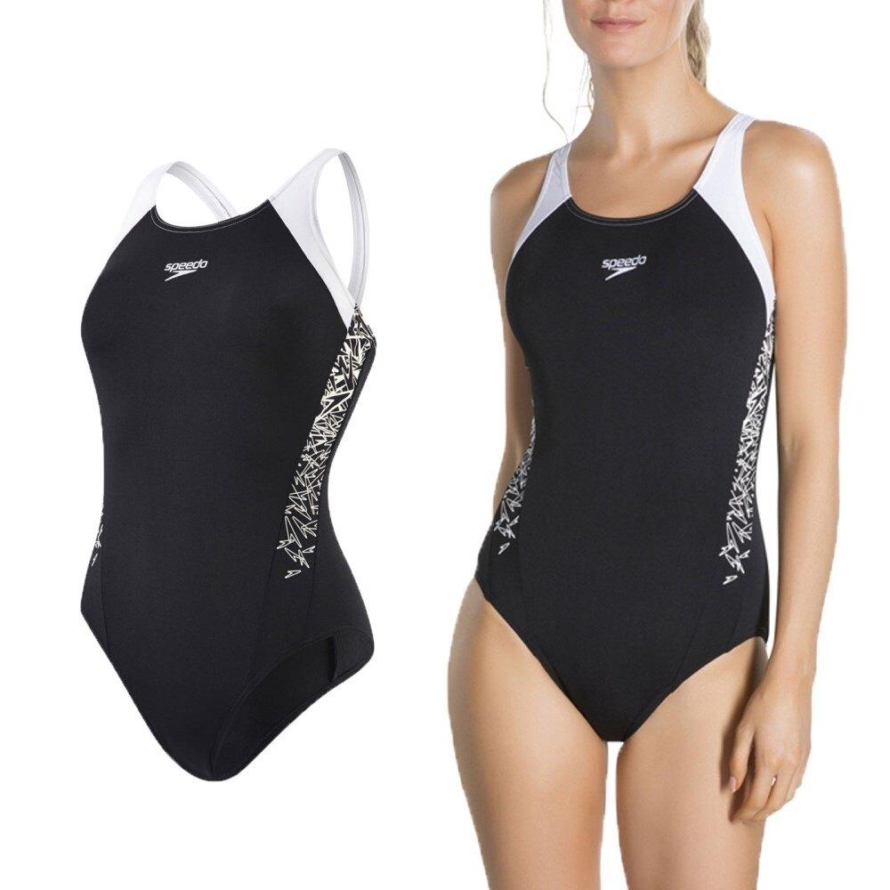 SPEEDO Boom Splice MB 女運動連身泳裝(免運 游泳 競賽 泳衣【03450019】≡排汗專家≡。運動,戶外與休閒人氣店家排汗專家的首頁有最棒的商品。快到日本NO.1的Rakuten