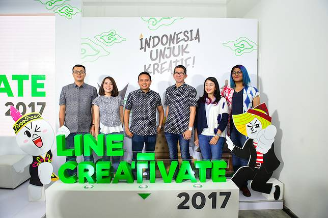 LINE Creativate 2017 Siap Gali Potensi Kreator Lokal