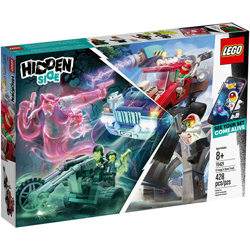 樂高積木 LEGO 2019《 LT70421 》Hidden Side 系列 - 艾弗格的特技卡車╭★ JOYBUS玩具百貨