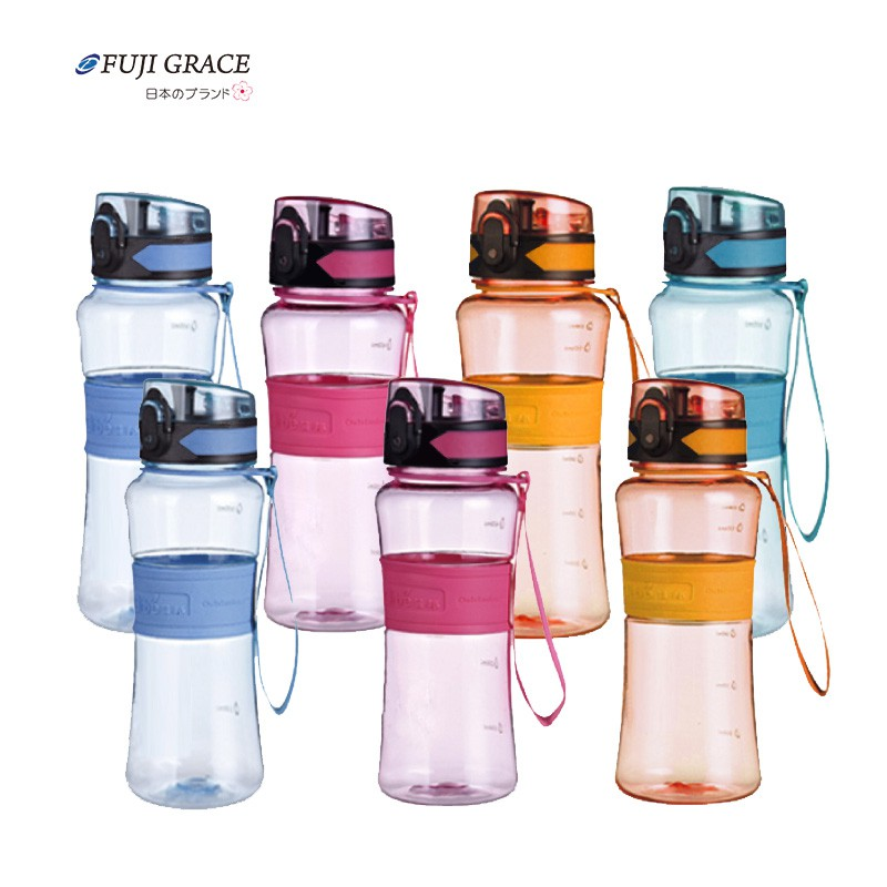 【FUJI-GRACE-富士雅麗】強力彈蓋防漏輕量太空瓶(350ml/450ml/600ml)