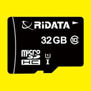 【RiDATA】microSDHCカード