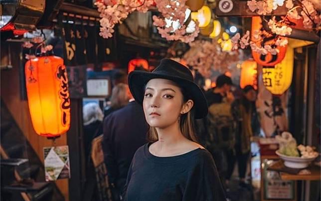 ▲藝人歐陽靖長期旅居東京。(圖/翻攝臉書)