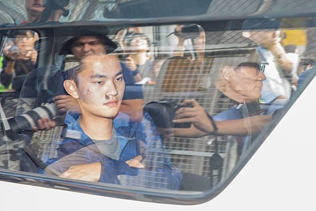 Chan Tong-kai leaves Pik Uk Prison on Oct. 23. Photographer: Kyle Lam/Bloomberg