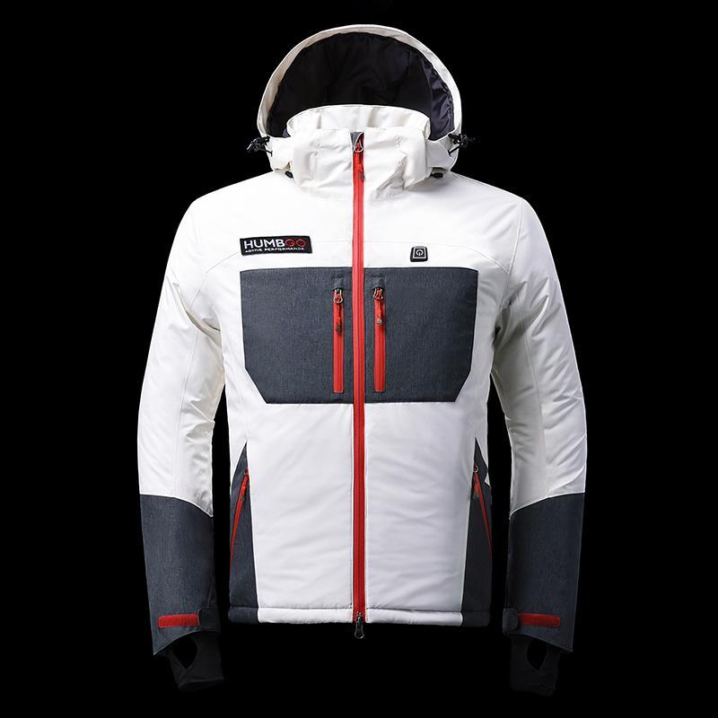 禦寒黑科技 5秒速熱石墨烯發熱外套 (男款) - 白 XL