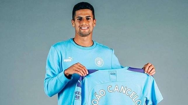 Pemain belakang Manchester City, Joao Cancelo