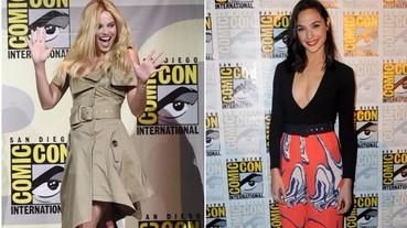 小丑女、神力女超人比性感!DC、漫威女英雄們動漫展上大比拼
