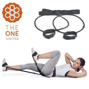 【The One】瑜珈健身 專業臀腿阻力訓練器-40磅(黑色)