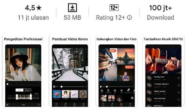 Aplikasi VivaVideo. Kredit: Google Play Store