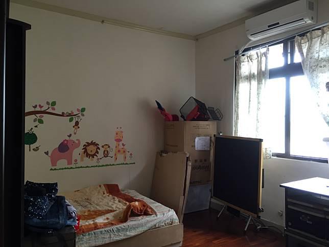 臥室翻新實例一: 改造前