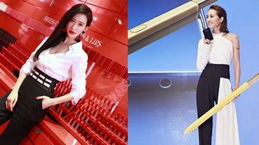 林志玲VS蔡依林,黑白褲裝誰比較美?沒想到這兩人也有撞衫的一天