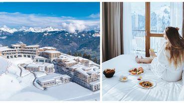 美得像仙境~「360度環抱阿爾卑斯山雪景!還有奢華小木屋!」走進ClubMed法國薩莫安斯的夢幻世界