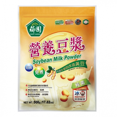 【薌園】營養豆漿(非基因改造黃豆) 500g x12袋
