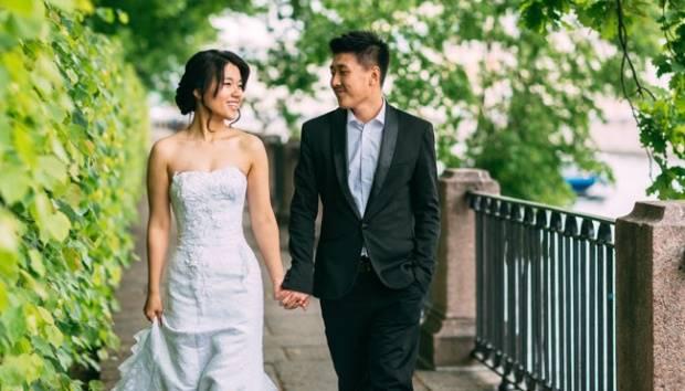 Ilustrasi pasangan menikah. Shutterstock