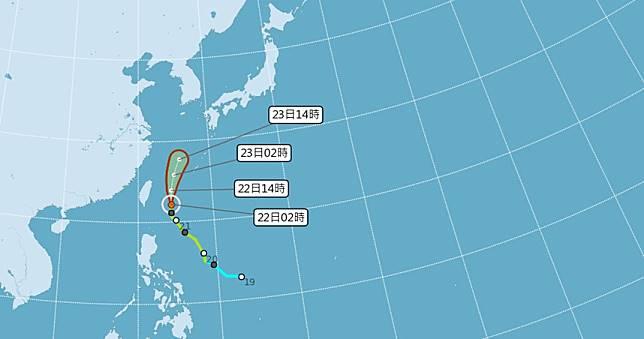 鳳凰北轉過門不入「北北基宜豪大雨」 下周再降溫恐有本月第6颱