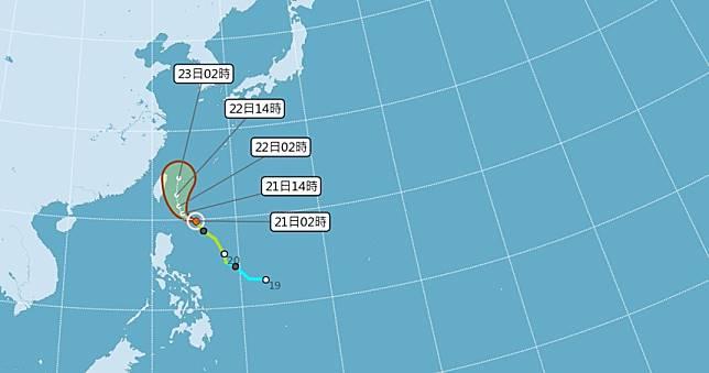 鳳凰路徑再東修!雨勢「越晚越大」 周五六最靠近台灣