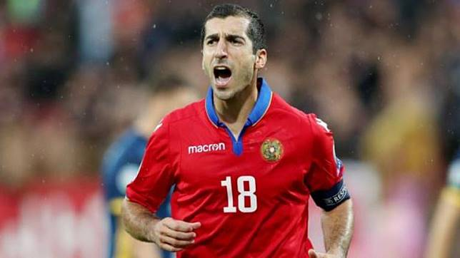 Mkhitaryan Bersinar, Cetak Dua Gol Saat Armenia Tekuk Bosnia
