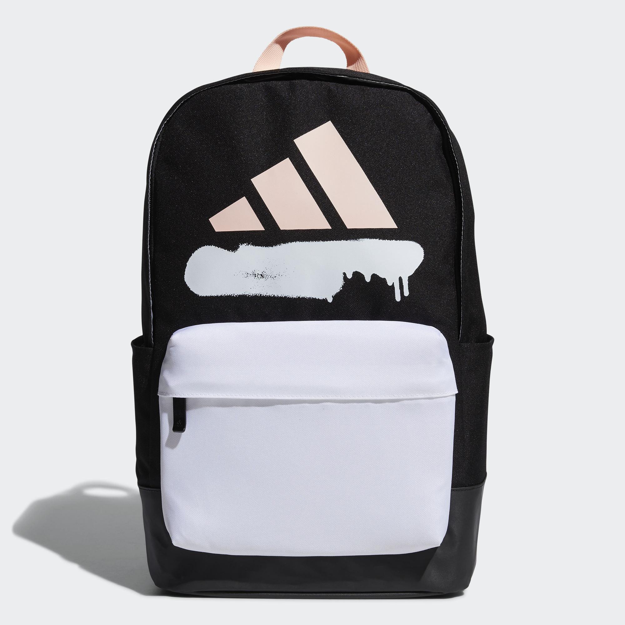 專業運動 尺寸:46 cm x 28 cm x 16 cm 容量:23.75 L 100% 再生聚酯平紋布 背面拼接透氣網布 質感堅韌的圖案後背包 正面拉鍊口袋 兩側開放式口袋 TPE 塗層底部