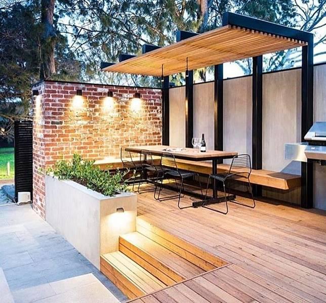 Inspirasi Untuk Rumah Impian Intip 6 Model Teras Rumah Masa Kini Ini Dekoruma Com Line Today
