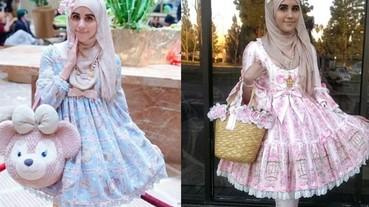阿拉的特許,穆斯林服裝也能走日系蘿莉風!