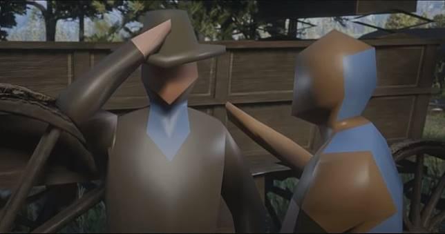 《碧血狂殺2》超低畫質惡搞模改,瞬間有種《人類一敗塗地》感