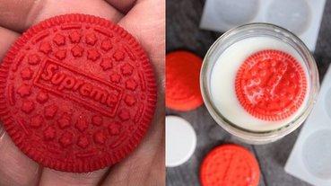 既然買不起那就自己做! 國外網友分享如何自製「 Supreme Oreo」,粉絲:我還不吃爆!