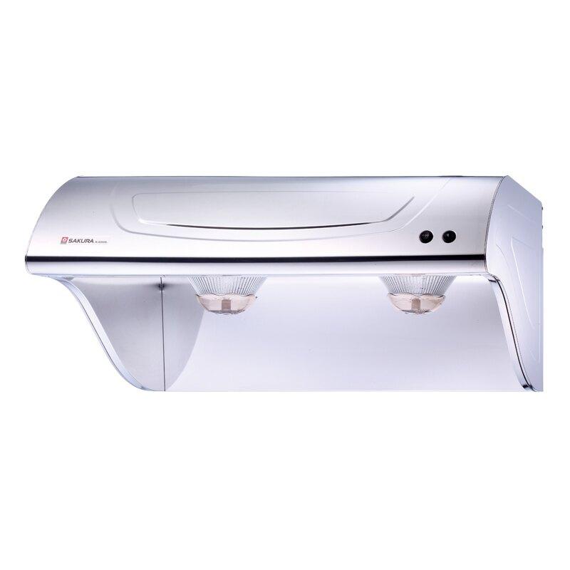 【櫻花 SAKURA】斜背式除油煙機-不鏽鋼 80cm R3250SL (全台標準安裝,安裝費由現場安裝人員收取)