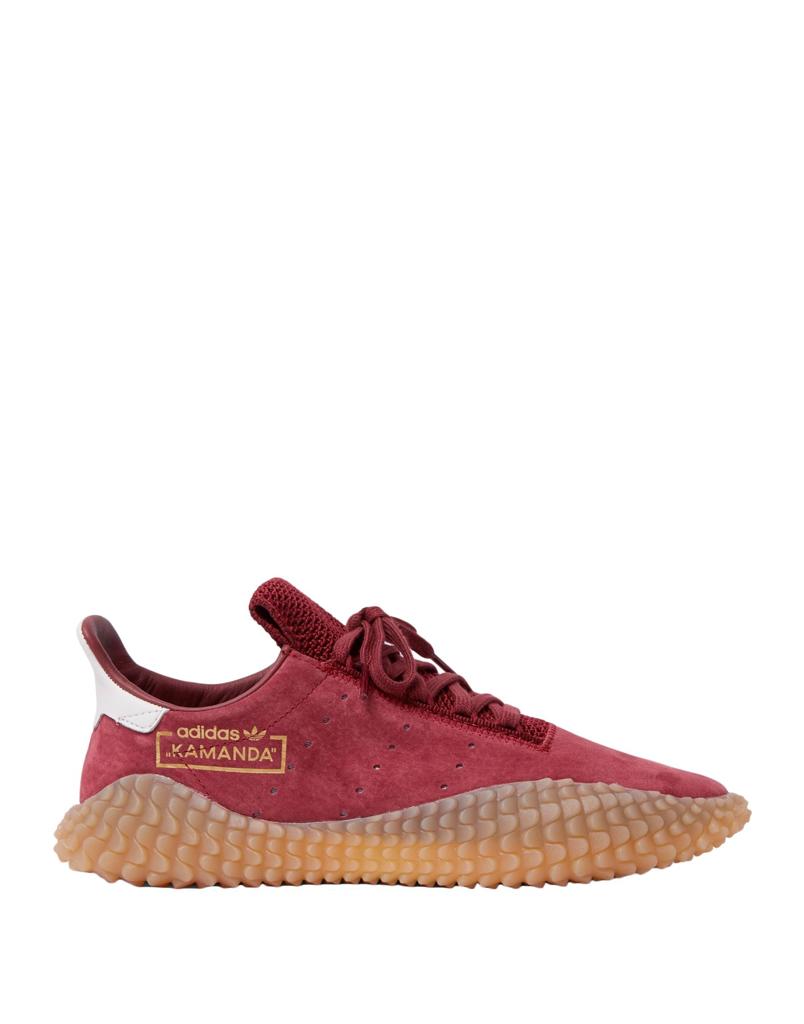 knitted, leather, suede effect, logo, solid color, laces, round toeline, flat, fabric inner, rubber