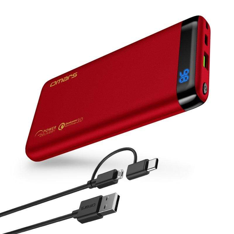 產品特色 10000mAh超大容量 18W PD 快速充電 擁有USB-A及Type-C 可以同時對兩種設備充電 通過BSMI認證,多重保護機制 LED顯示電量,精準了解電量 產品介紹 輕量快充行動電