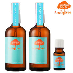 【Morocco GaGa Oil】摩洛哥秀髮油100ml*2(4款可選)+香水秀髮油10ml*1