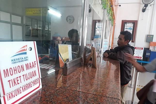KAI Divre III Palembang hitung kenaikan penumpang 3,4 persen