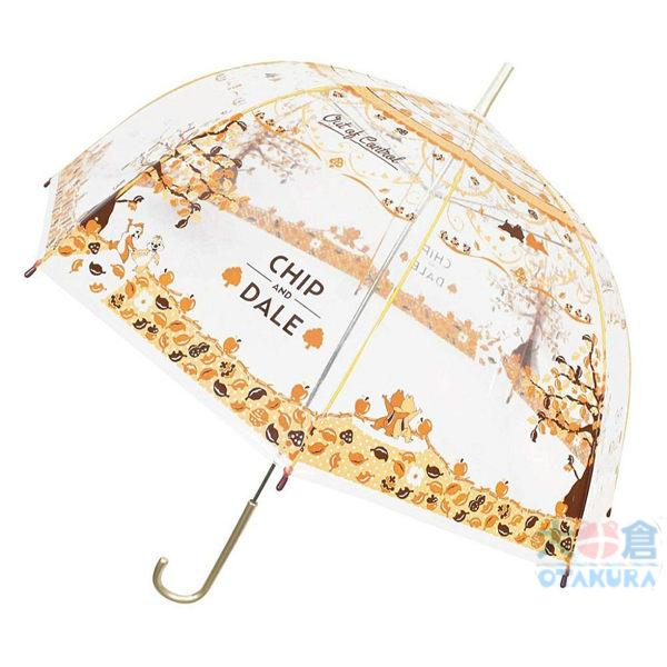 具有圓潤美麗形狀的鳥籠傘。防止的肩膀淋濕