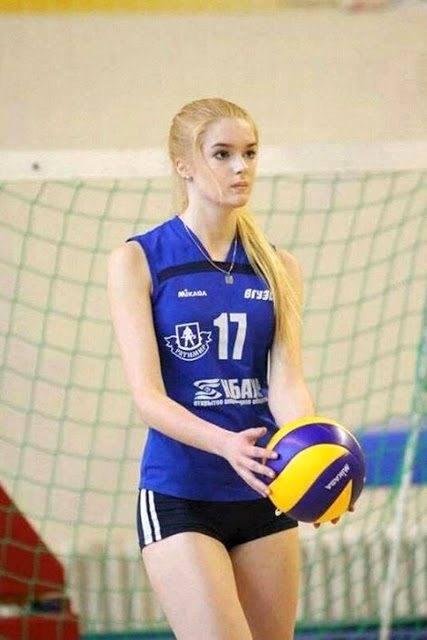 Alisa Manyonok atlet voli Rusia (viral4real)