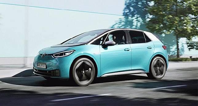 Mobil listrik Volkswagen ID.3. Sumber: antara