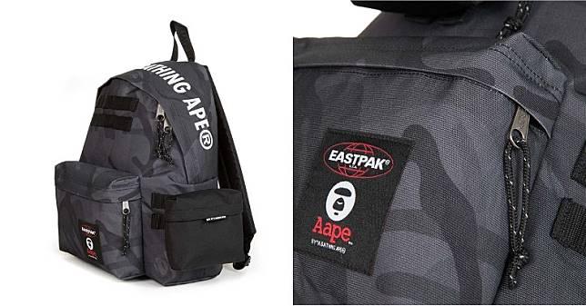 隨背囊附上可以拆卸的迷你細袋,可以配搭於正面及側面位置。袋面拉鏈口袋角落位置繡上印有兩個品牌標誌的布章,強調聯名合作珍貴性。(互聯網)