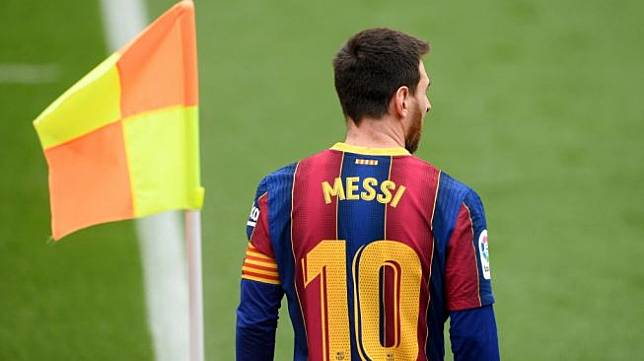 Megabintang sekaligus kapten Barcelona, Lionel Messi. [Josep LAGO / AFP]