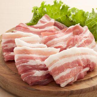国内産豚バラスライス