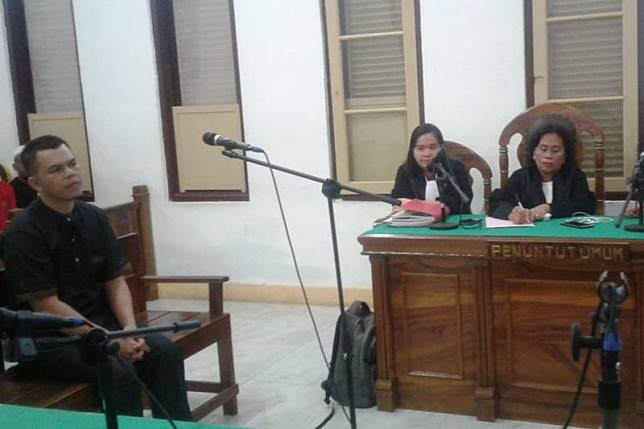 Warga Deli Serdang bawa 28 kg sabu dihukum mati