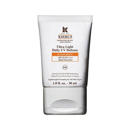 ●不含油脂、不阻塞毛孔的UV防曬隔離乳,質地超輕盈、清爽不黏膩,在防曬的同時,肌膚依然能清爽呼吸! ●4大零負擔保證:無油脂、無香料、無色素、敏感肌適用的臉部防曬乳,亦可當隔離霜使用。 ●3重UV防護