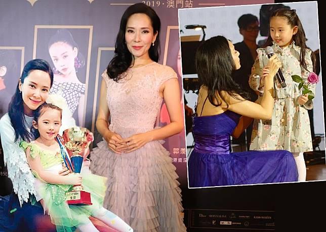 郭羨妮話7歲囡囡已經識得揀衫。