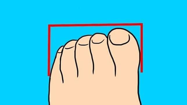 Tes kepribadian berdasarkan bentuk jari kaki. Anda yang mana? (Dok. Tayra Lucero/LittleThings)