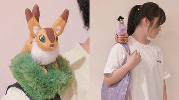 把《神隱少女》巨嬰寶寶老鼠背在肩上!吉卜力推出「超萌玩偶環保袋」好想要擁有!