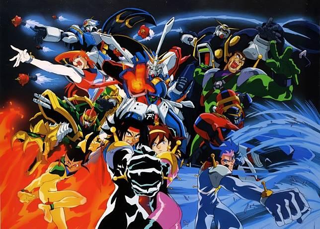 滄海遺珠《機動武鬥傳G高達》是以高達武鬥(Gundam Fight,高達擂台)為舞台,創意在當年非常大膽,當中主角神高達,更被認定為高達中的「近身戰王者」。(互聯網)