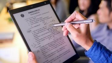 台日混血!Readmoo正式推出10.3吋mooInk Pro,既是電子書閱讀器也是手寫電子筆記本