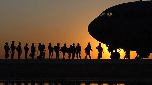 Ilustrasi Tentara AS -