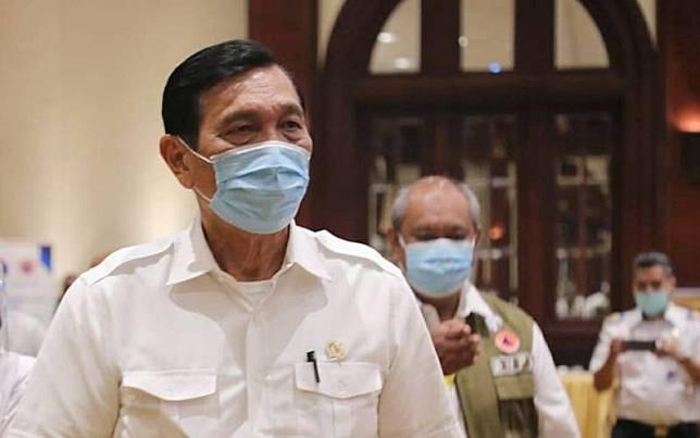 Menteri Koordinator Bidang Kemaritiman dan Investasi Luhut Binsar Pandjaitan/Istimewa