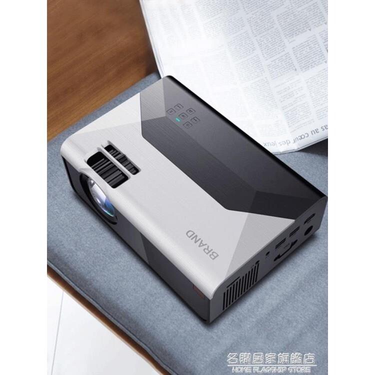 投影儀家用小型便攜投影電視高清手機一體機投影機墻上看電影墻投迷你宿舍 - 超清版,官方標配