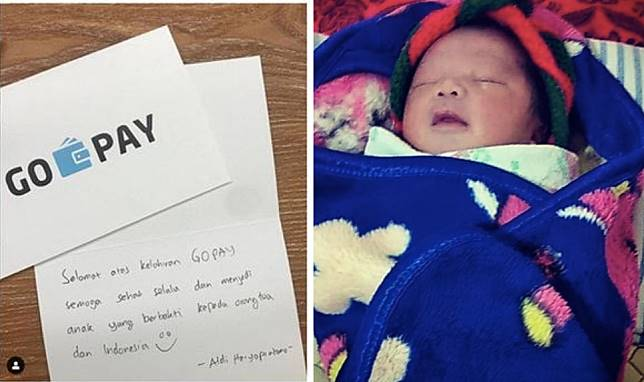 Parents name newborn son 'Gopay' after Go-Jek's e-payment service, get Go-Pay credit as gift