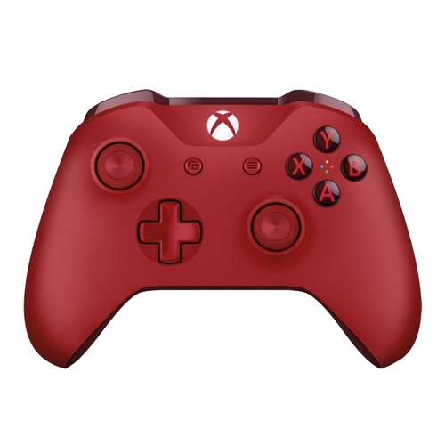 Xbox One特別版藍牙紅色無線控制器,搭載Bluetooth,支援Windows 10裝置進行遊戲,內嵌3.5mm立體聲耳機插孔,更全面地支援您的耳機通話裝置,提供絕佳的遊戲體驗! Xbox On