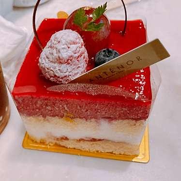 実際訪問したユーザーが直接撮影して投稿した西新宿ケーキアンテノール 新宿京王店の写真