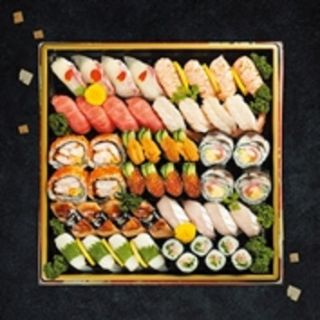 にぎりと巻き寿司のファミリセット 4~5人前
